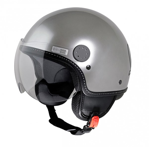 Vespa Helm Steel - silber