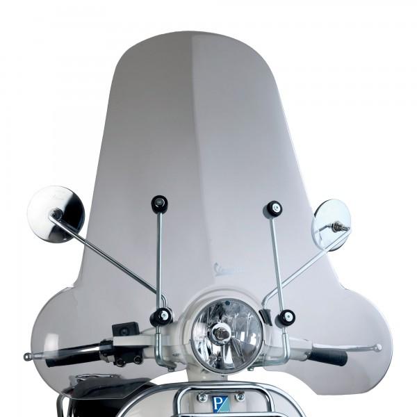 Original Vespa PX Windschild / Wetterschutzscheibe Groß