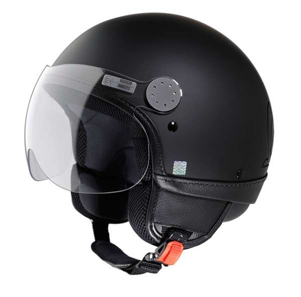 Vespa Helm Primavera - schwarz matt