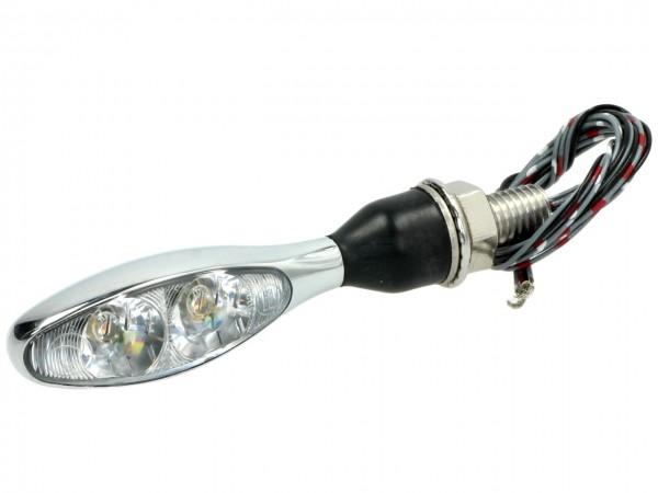 Kellermann LED Blinker, Blinker-,Brems- u. Rücklichtkombination, Micro 1000 DF, hinten, Stahl, 12 V,