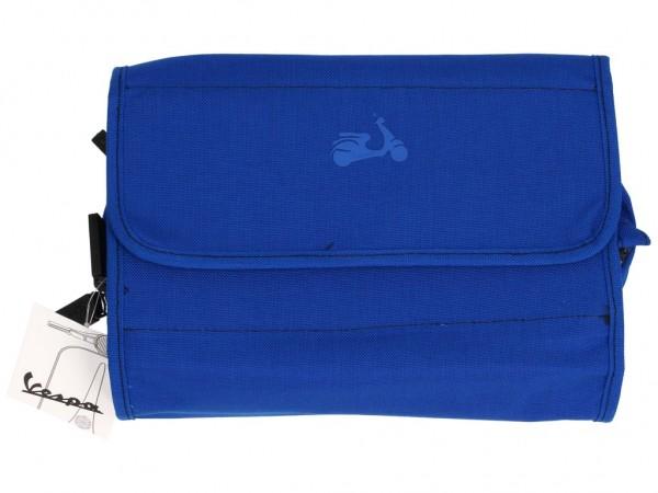 Vespa Kulturtasche, blau