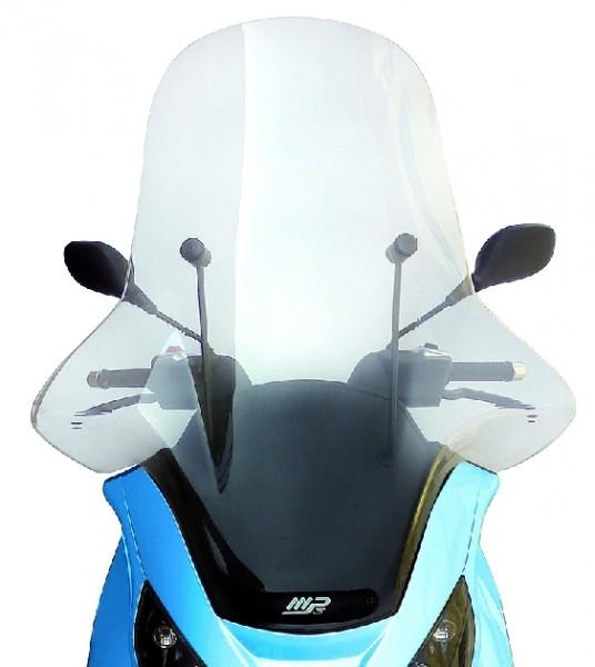 Windschutzscheibe komplett, Style, 86x75 cm, homologiert