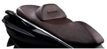 Sitzbank, braun, Gel, Komfort