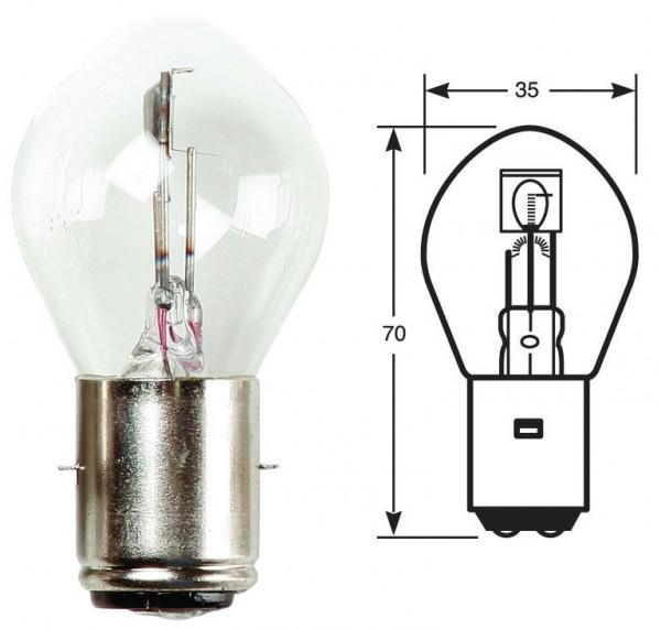 Ring Leuchtmittel, Glühlampe, 12 V, 35/35 W, BA20d