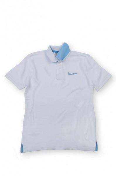 Vespa Vespa Colors, Polo Shirt, Vespa Logo, Kinder, Größe: 9/10, weiss, blau, Baumwolle