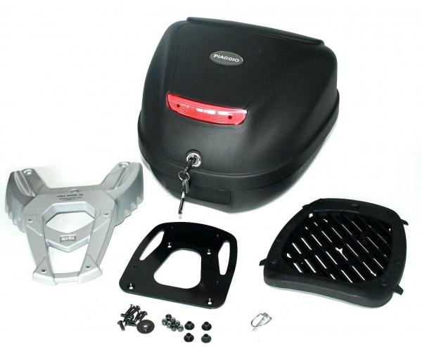 Top Case Kit, schwarz, eingefärbt