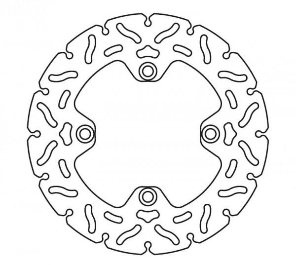 TRW Bremsscheibe, starr, Ø 240 mm, MST240RAC