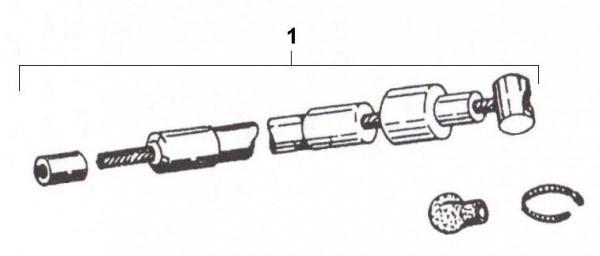 Bowdenzüge Gaszug - Ape 50ccm 2T AC 1969-1971 TL1T