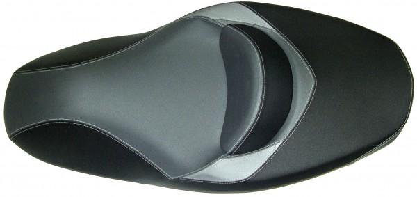 Shad Sitzbank, schwarz, grau, 1050 x 550 mm