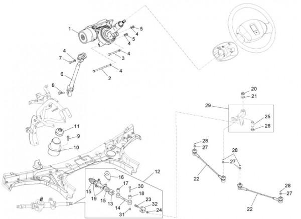 Fahrgestell Klimaanlage - Porter Maxxi D120 Diesel 1200ccm 4T LC 2011- ZAPS90DK