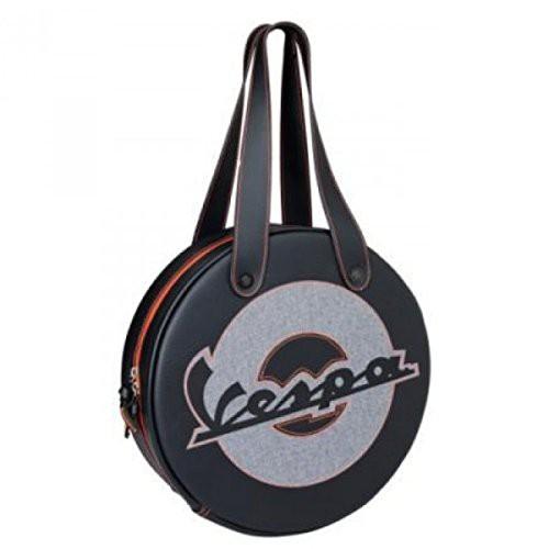 Original Vespa Tunneltasche Tasche schwarz fluo